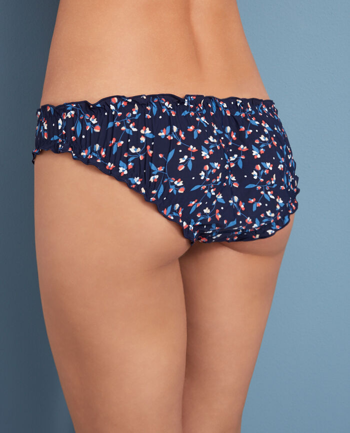 Printed briefs Flower blue Take away