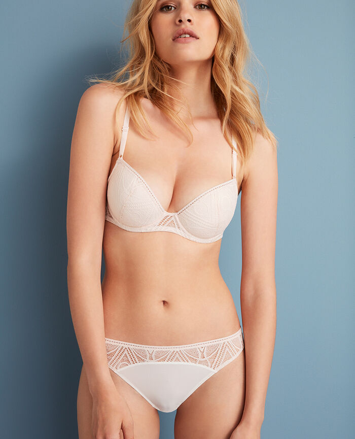 Padded push-up bra Ice cream rose Boheme
