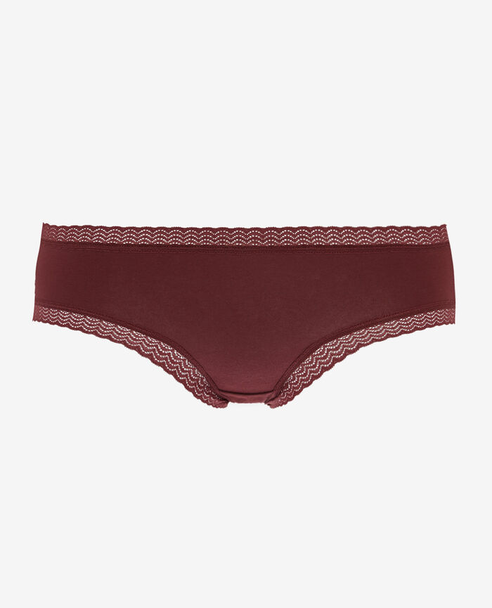 Shorty Rouge cassis Basics