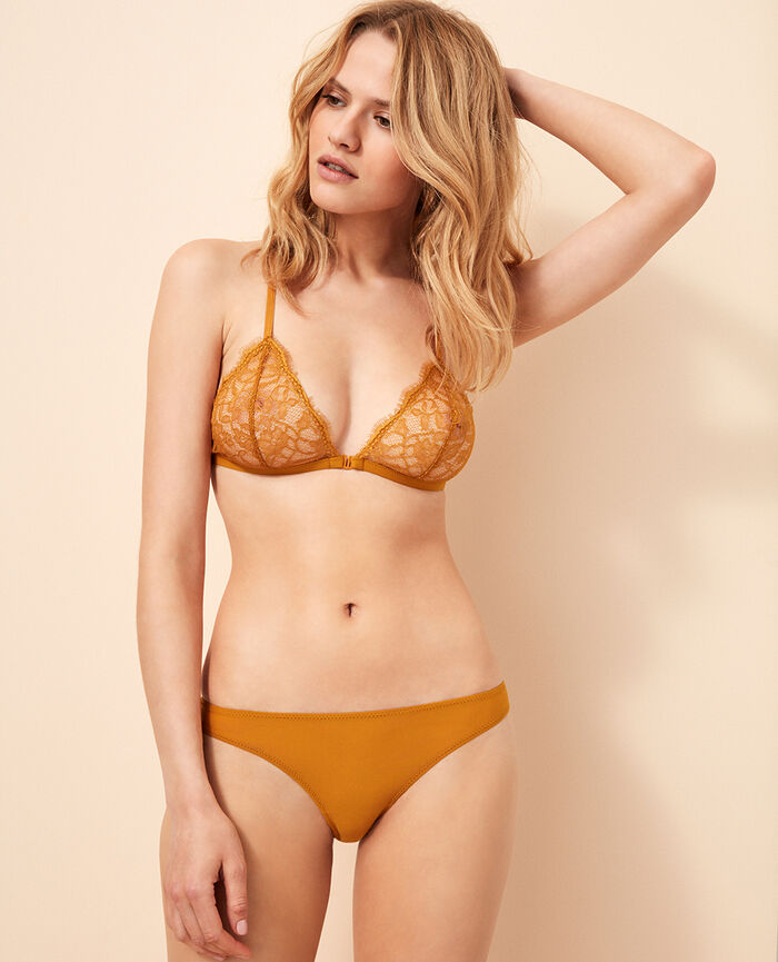 Hipster briefs Turmeric brown Taylor