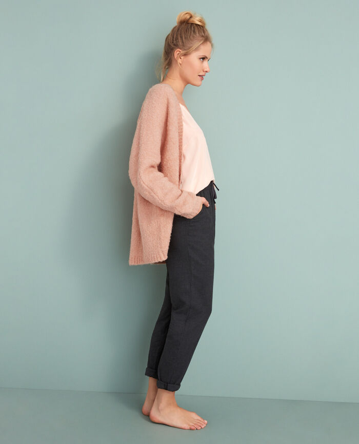 Long-sleeved cardigan Jazz rose Loop
