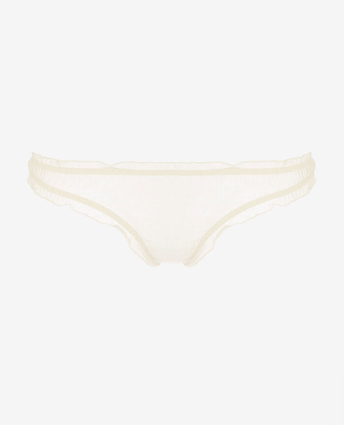 Printed briefs Ivory Froufrou