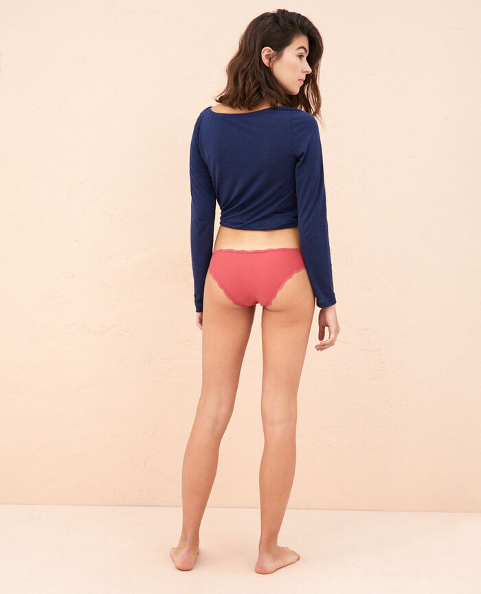 Hipster briefs Peony red Take away