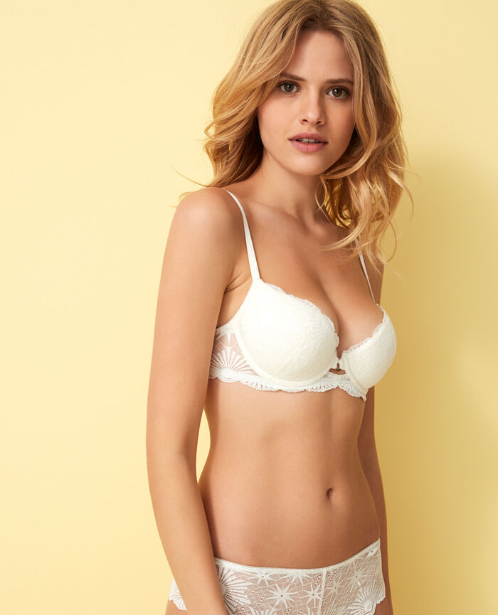Padded push-up bra Ivory Soleil