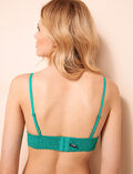 Soft cup bra Palmito green Monica