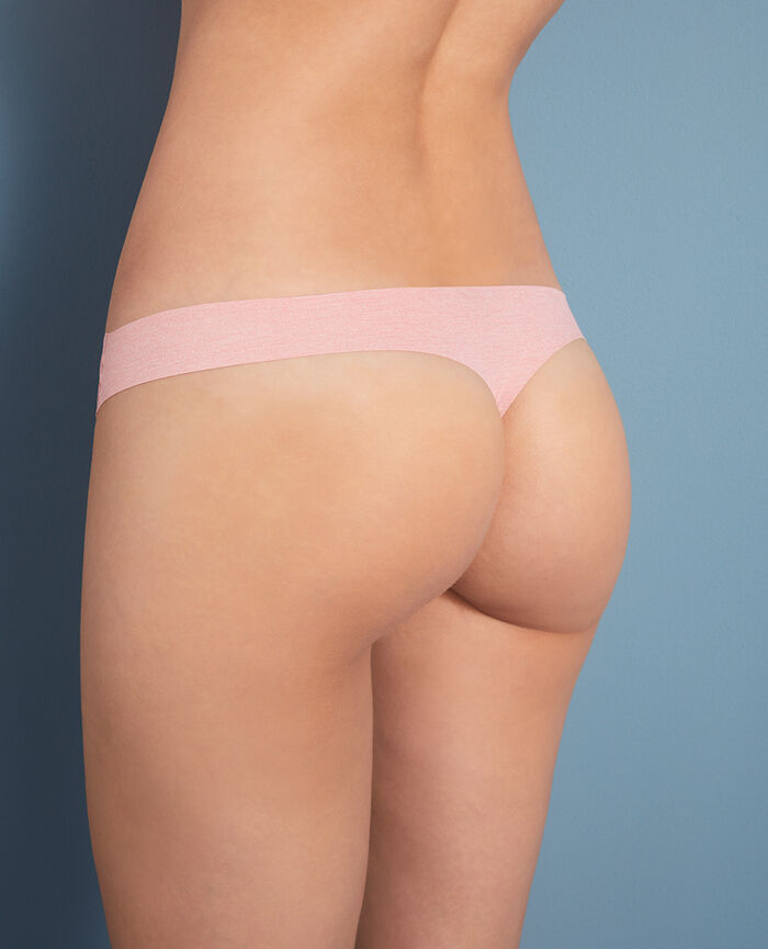 Thong Rose chiné Fantomette