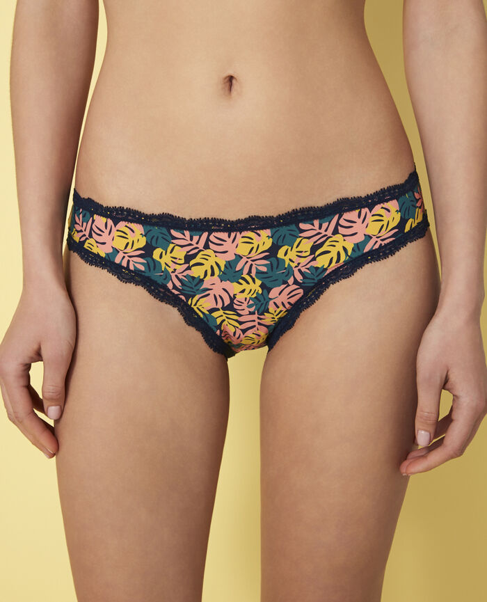 Hipster briefs Foliage blue Take away