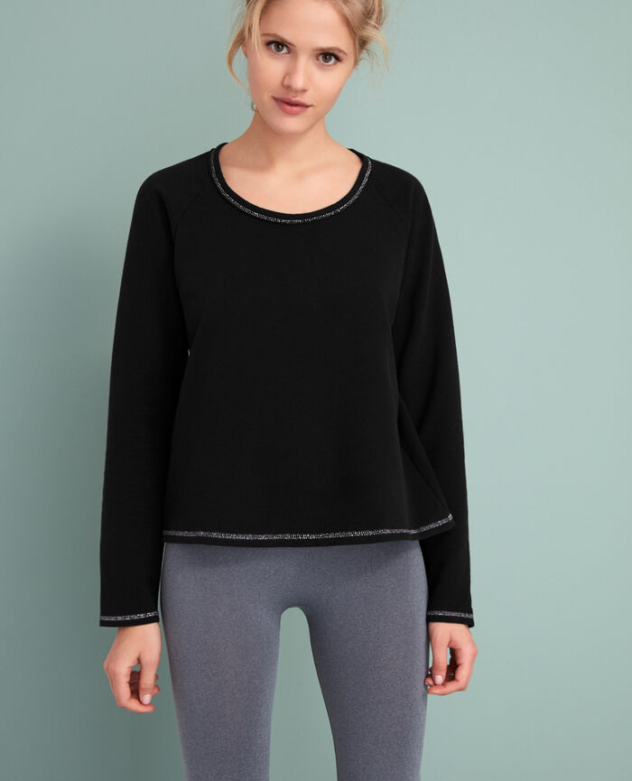 Sporty sweater Black Moove