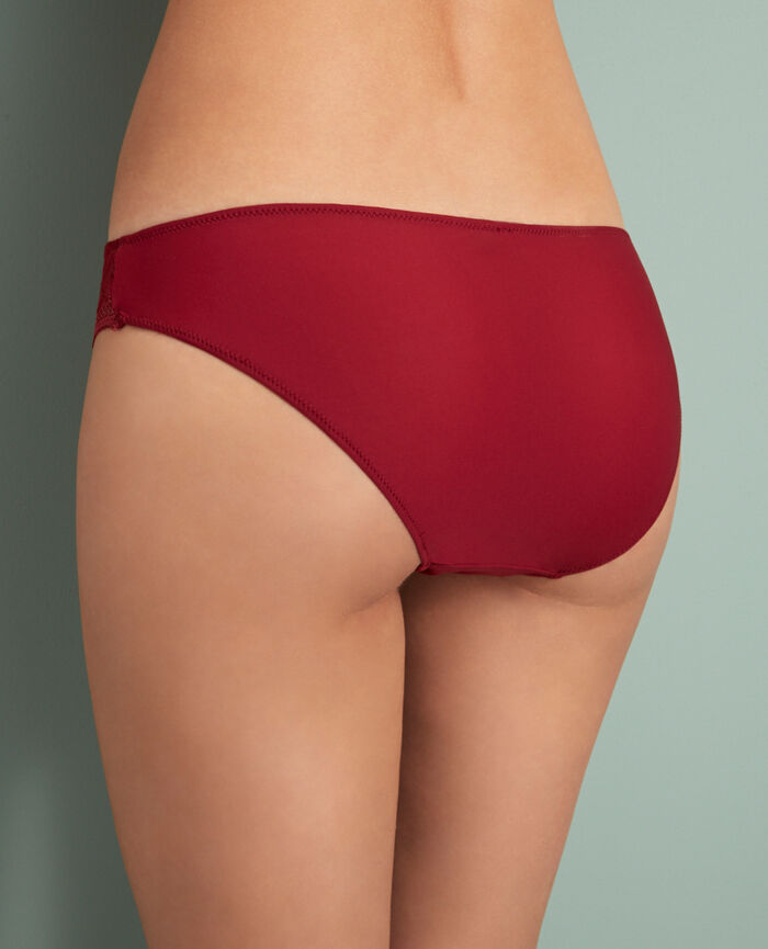 Briefs Leather red Manhattan