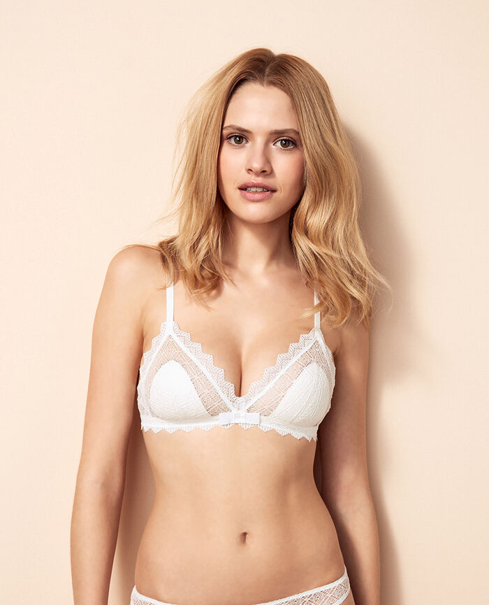 Soft cup bra Ivory Insolente