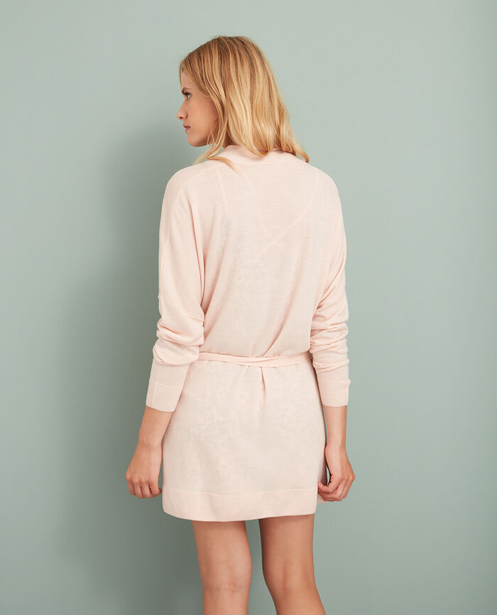 Cardigan Lychee pink Extra
