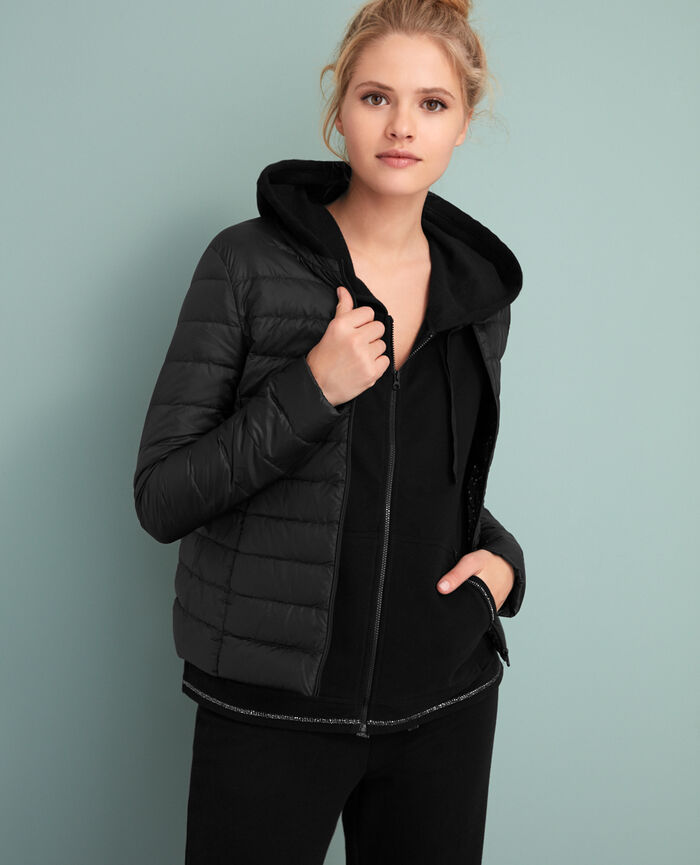 Jacket Black Uld tamtam