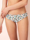 Printed briefs Flowers ivoiry Take away