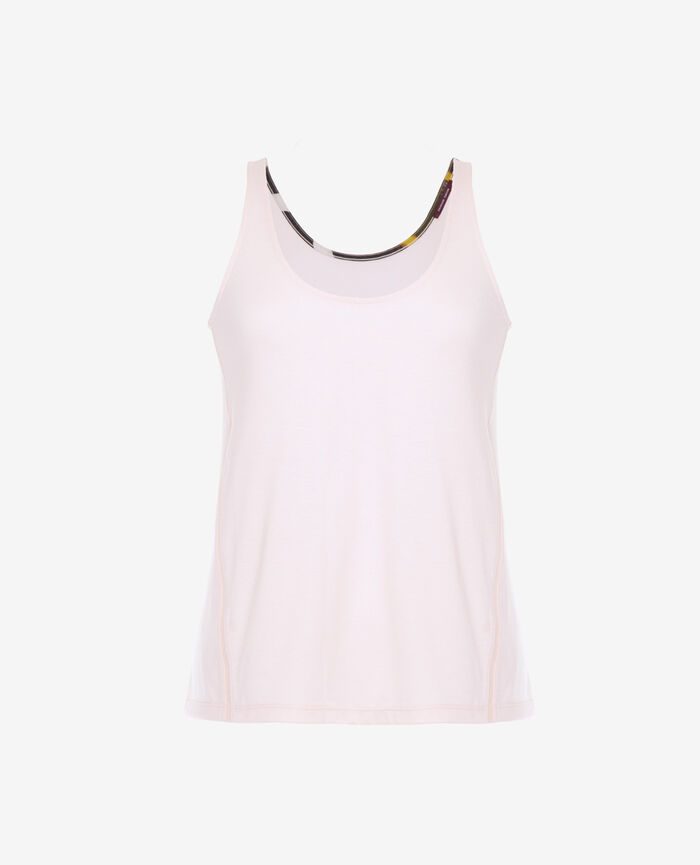 Sports tank top Pink cloud Yoga