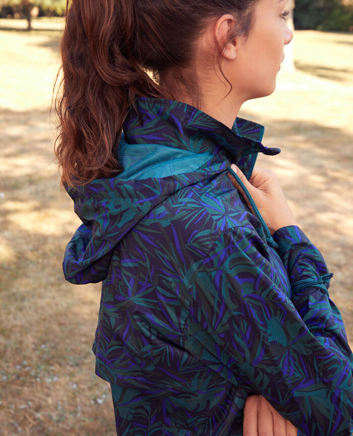 Sport windbreaker Blue palm Run