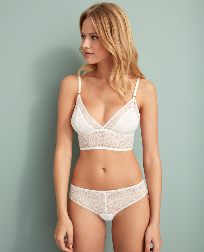 Tanga Rose white Manhattan