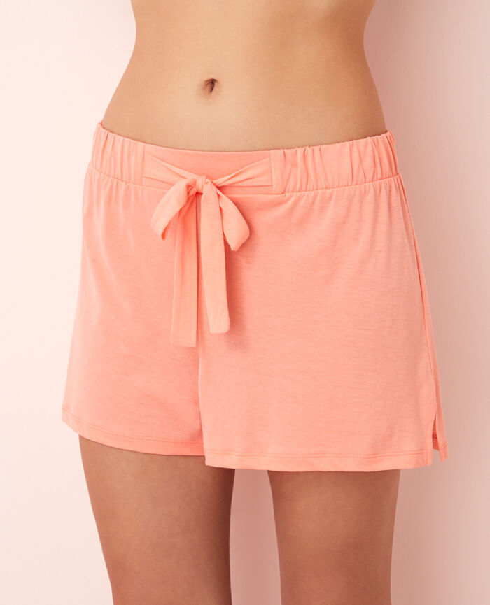 Short de pyjama Pamplemousse rose Latte