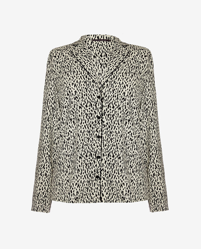 Pyjama jacket Wild white Darling