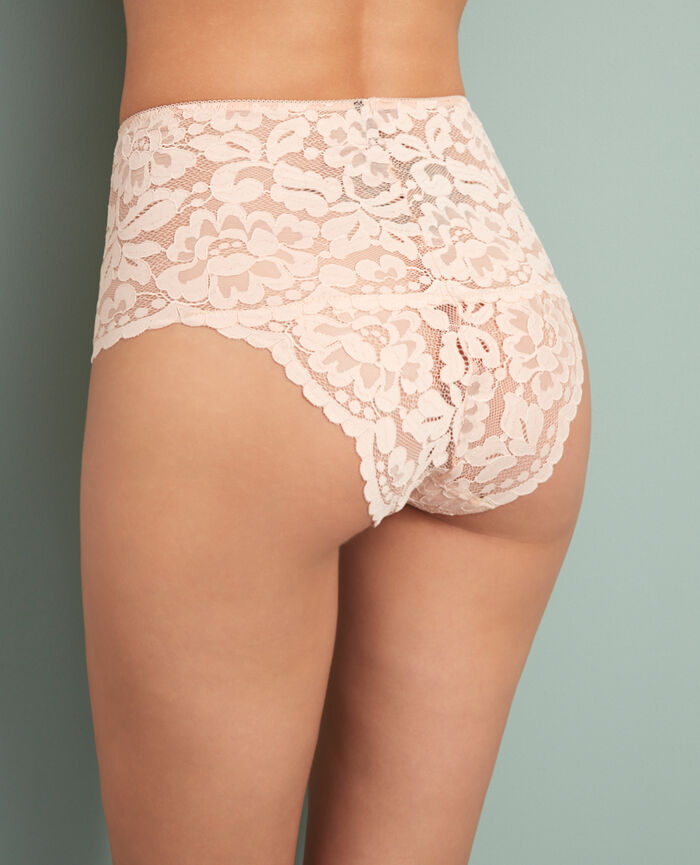 Culotte taille haute Rose glace Angelina