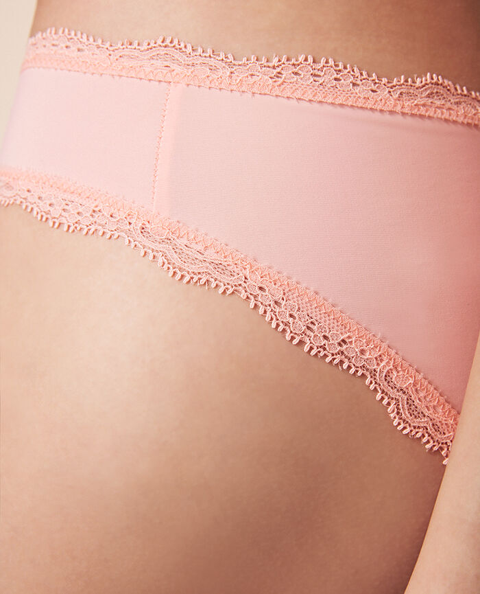 Culotte taille basse Rose radiant Take away