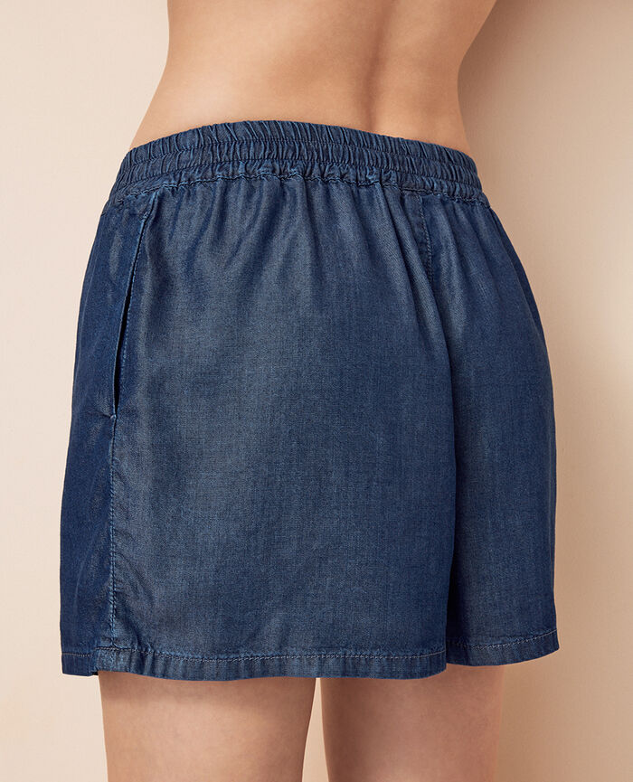 Boxer shorts Denim blue Easy