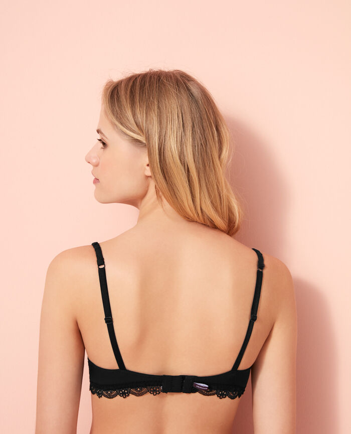 Soutien-gorge push-up mousses Noir Love
