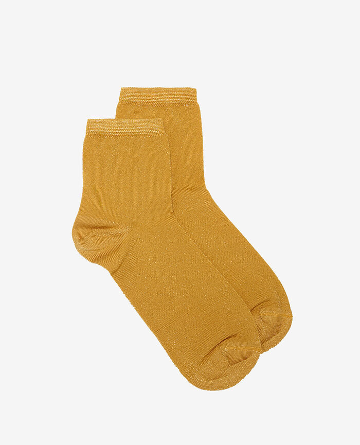 Chaussettes Jaune d'or Diamond