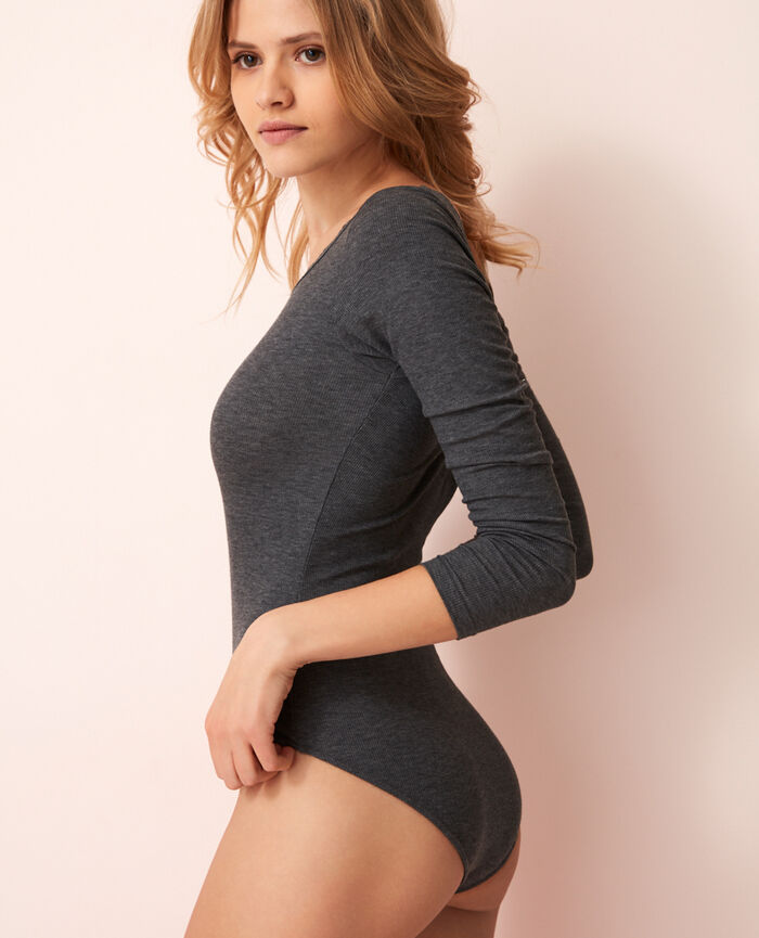Body Gris anthracite Lovely