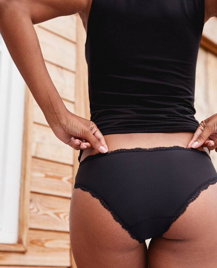 Hipster briefs Black Take away
