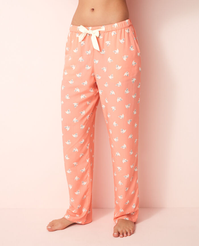 Pantalon de pyjama Olympe rose Darling