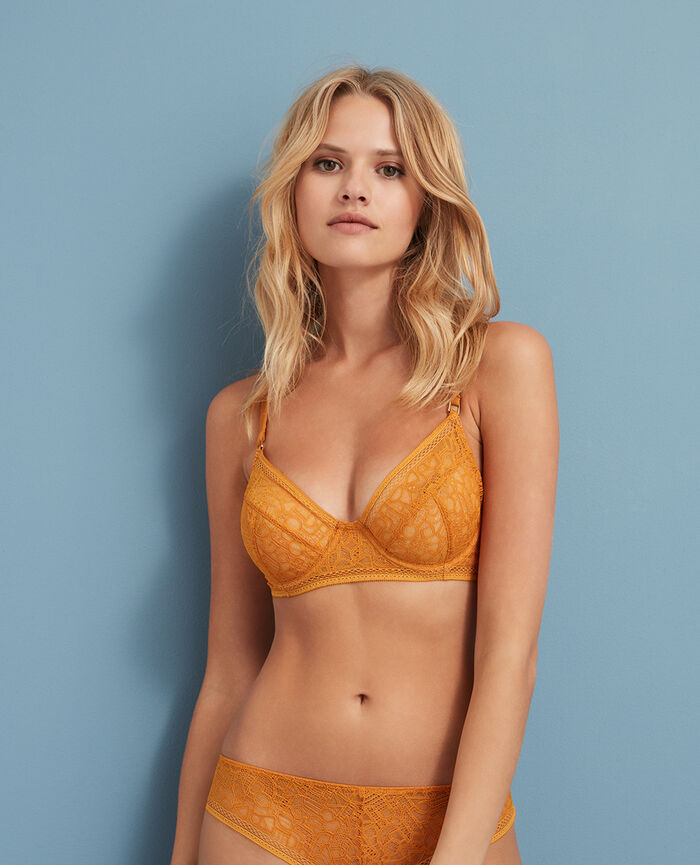 Underwired bra Taxi yellow Manhattan