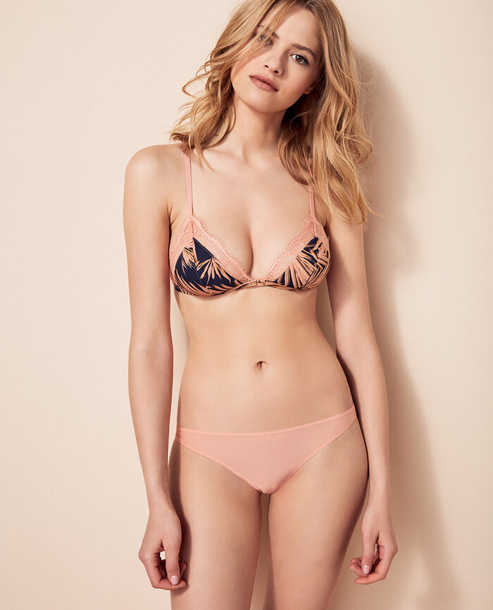 Culotte taille basse Rose toucan Taylor