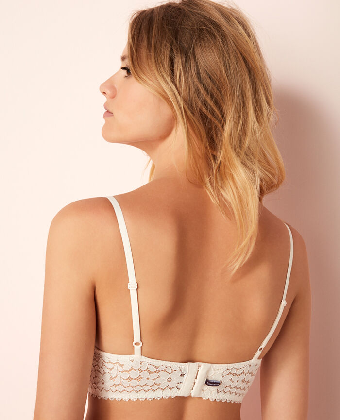 Bustier bra Rose white Monica