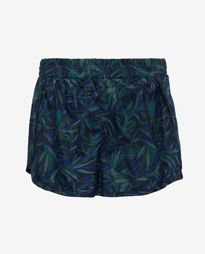 Sport shorts Palme bleu Run