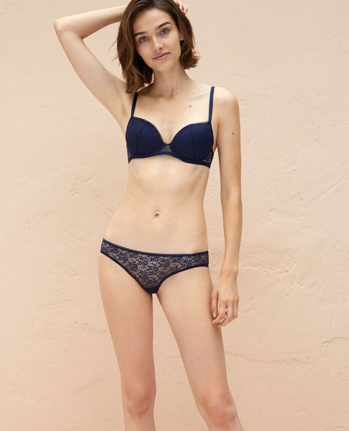 Padded push-up bra Navy Eldorado