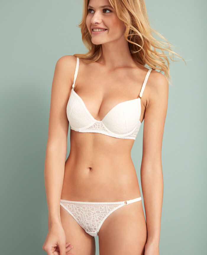 Padded push-up bra Rose white Manhattan