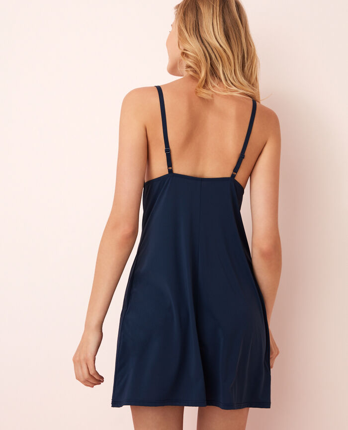 Slip dress Abyss blue Take away