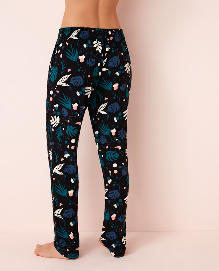 Pyjama trousers Veggie noir Darling