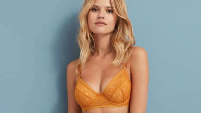 Half-cup and balcony bras