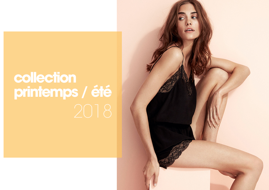 Pyjamas femme Princesse tam.tam, collection printemps-été 2018