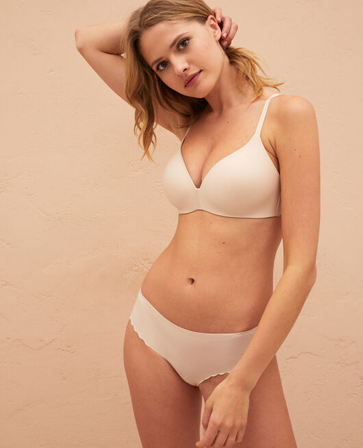 Soft moulded triangle bra Powder Secret