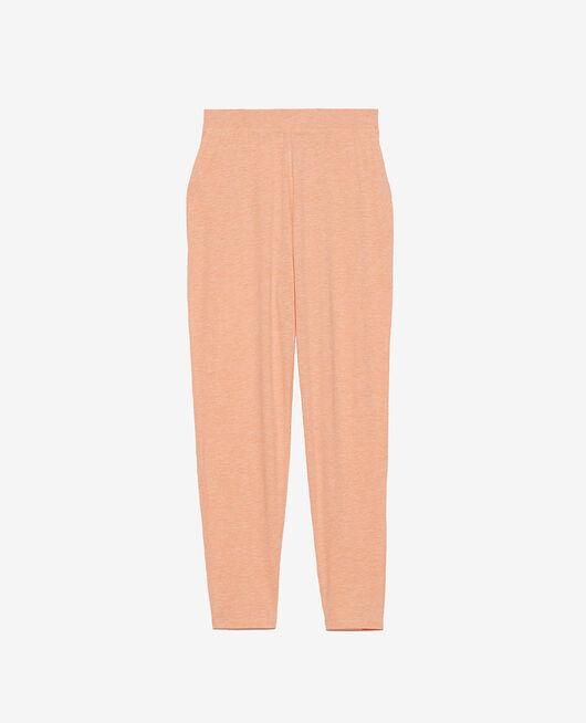 Pantalon carotte Rose chiné Paresse