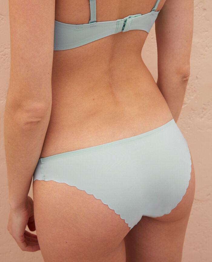 Culotte taille basse Vert mosaïque Secret