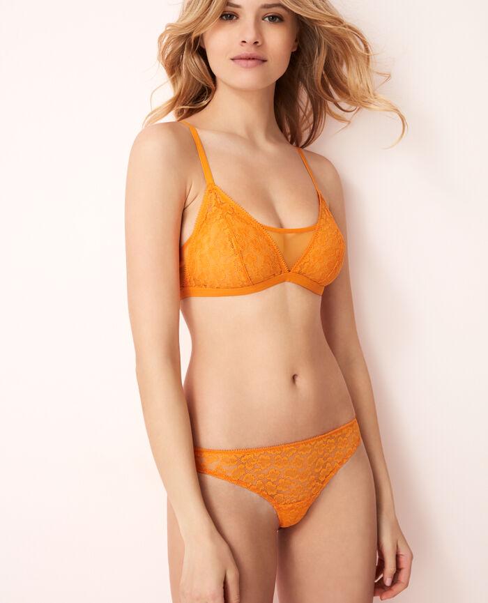 Tanga Maya orange Azteque