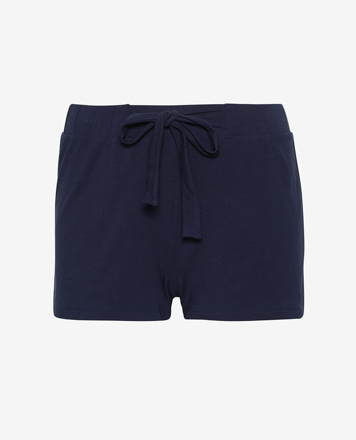 Short de pyjama Bleu marine Echo