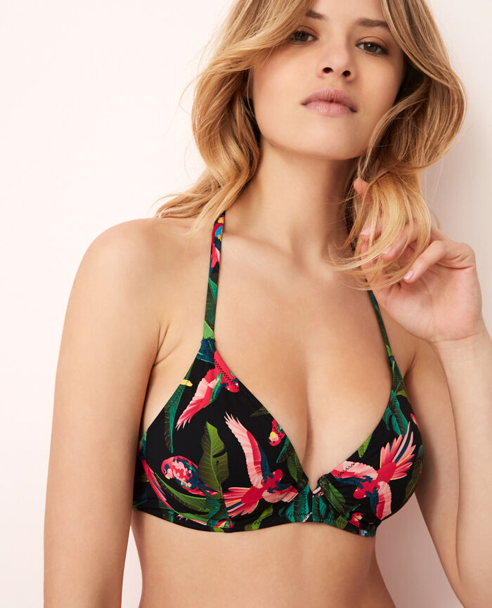 Underwired triangle bikini top Multicolour Ara