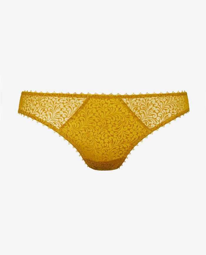 Hipster briefs Absinthe yellow Velvet
