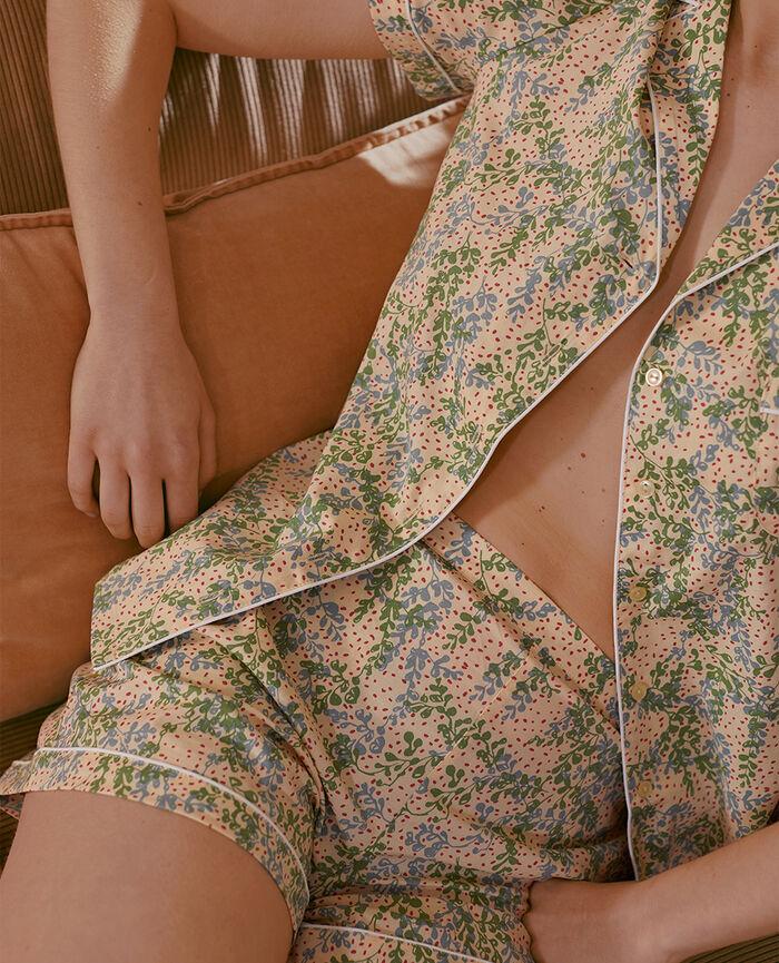 Set pyjama Lilas jaune Tutti frutti