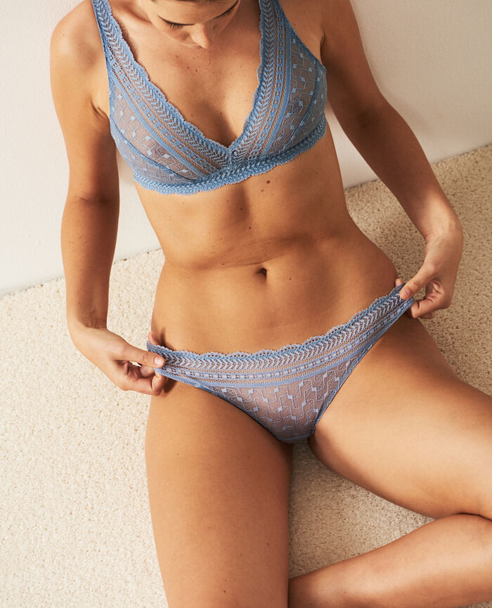 Hipster briefs Ash blue Duo