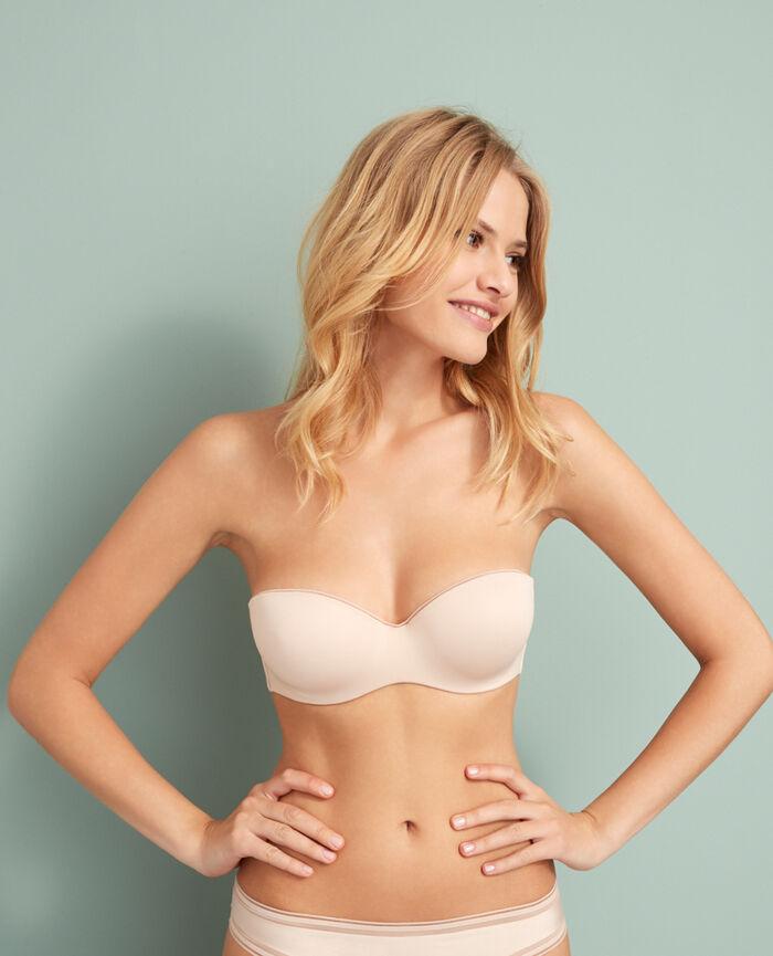 Contour strapless bra Powder Make up